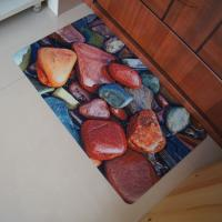 China Recycled Soft Rubber Floor Carpet , Kitchen Plastic Rubber Floor Mats on sale