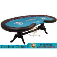 Soft Casino Poker Table Handrails Built - In High Density Elastic Sponge