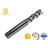 China Durable Carbide CNC End Mill Cutter Standard Ceramic Graphite HRC70 High Speed wholesale