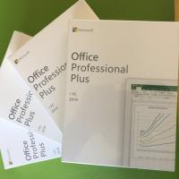 China Microsoft Office Products Office 2019 Professional Plus Pro Plus Full Package And Keycard wholesale