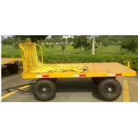 China 2T Front Rail Vehicle Loading Trolley , Airport Baggage Equipment Easy Operation wholesale