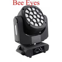 China Beam Wash LED 19 X 15W Bee Eyes 4 In 1 Moving Head With Zoom For Show wholesale