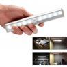 China Amazon Portable USB Rechargeable PIR Wireless Lamp Stick Bar wardrobe Light, motion sensor wholesale