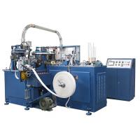 China SCM-600 90pcs/min Automatic Paper Cup Machine / Making Machinery With Heater Sealing / Ultrasonic unit wholesale