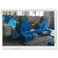 Buy cheap Self-aligned Pipe Turning Rolls Bed Tank Pipe Vessel Seam Welding , 80T from wholesalers