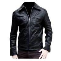 China S M XL XXL XLL waterproof plus size Fleece Lined Leather jackets for men wholesale