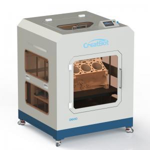 Quality Automatic Large Print Size 3d Printer , 110-220V CreatBot D600 3D Printer for sale