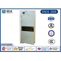China Hospital Fire Rated Steel Door / Single Open 90 Minute Fire Rated Doors wholesale