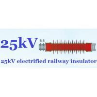 High Tension Railway Insulators Silicon Rubber Impact Resistant