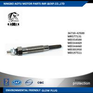 China HYUNDAI KIA MITSUBISHI Diesel Engine Glow Plugs 0100226511 3671042500 MR577131 MD354500 MD344469 MD197511 wholesale