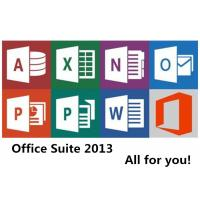 China Home and Student Microsoft Office 2013 Key Code License Windows 32 Bit 64 Bit Personal on sale