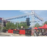 Buy cheap Lightweight Heavy Duty Aluminium Stage Truss , Stage Lighting Truss Easy from wholesalers