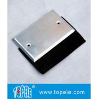 China Flat One Gang Aluminum Stamped Cover , Weatherproof Electrical Outlet Boxes wholesale