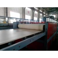 China WPC Foam Board Extrusion Line Plastic Extrusion Lines For PP / PE / PVC wholesale