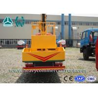 China Manual High Altitude Aerial Platform Truck , Articulated Boom Lift wholesale