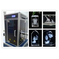 China Diode Pumped 3D Laser Glass Engraving Machine , Computerized 3D Laser Carving Machine wholesale