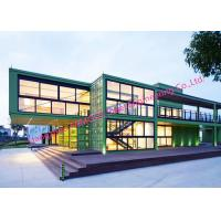 China Box Shipping Container House For Commercial Use Expandable Container Buildings Inexpensive Solution wholesale