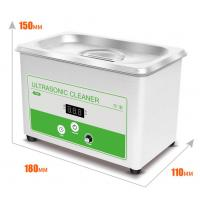 Buy cheap 100-120V / 60HZ 30W 0.8L Ultrasonic Washing Machine for Cleaning Jewelry and Eyeglass from wholesalers