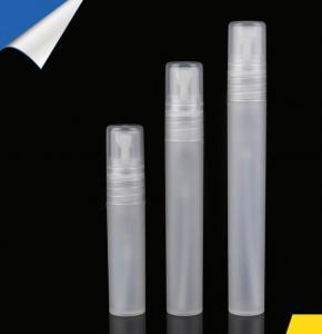China 5ml 8ml 10ml plastic pp travel perfume spray bottle wholesale