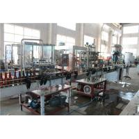 Buy cheap 370ML Glass Bottle Carbonated Drink Filling Machine , Beer Bottle Capping from wholesalers