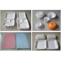 China 60Hz Food Box Machine / EPS Foam Clamshell Take Away Containers Production Line wholesale