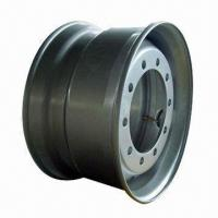 China Tubeless Steel Wheel Rim, Measures 22.5 x 11.75 Inches on sale