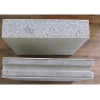 Quality Rainproof Cement Fiber Panels , Eps Cement Board For Interior Wall Paneling Partition for sale