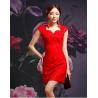 China Lace cheongsam wedding dress wholesale