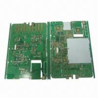 6-leyered PCB for Reading Device, Sized 130.8 x 182.8mm x 1up