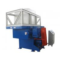 Buy cheap PLC Control Plastic Shredder Machine With Good Shaft Structure Design from wholesalers