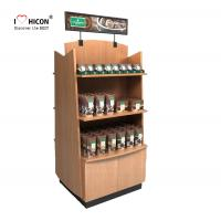 Buy cheap Wood Display Stand Double Way Wood Handmade Merchandising Chocolate Display Rack from wholesalers
