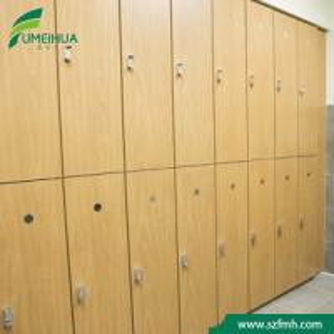 China HPL Locker Compact Laminate Waterproof Storage HPL Hospital Change Clothes Locker wholesale