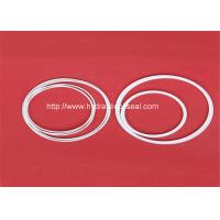 Ptfe back up ring supports hydraulic seal for