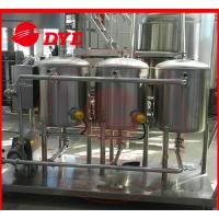 China 100L Small SS304 Cip Cleaning System Mirror Polish Interior Surface wholesale