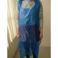 China Plastic Disposable Paint Aprons Smooth Surface Thickness 8 - 80mic wholesale
