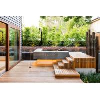 China Air conditioned Buildings 10mm 12mm Swimming Pool Glass Fence Around Pool Safe Fencing wholesale