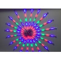 China 72 LED Meteor Programmable Christmas Lights Full Color Shower Rain Tube wholesale