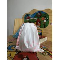 China Recyclable Plastic Drawstring Bags ,  Large Gift Bag Drawstring Travel Pouch wholesale