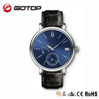 fashion luxury genuine leather mens watches high quality