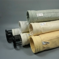 China Water Repellent 1000mm Cement Nonwoven PPS Filter Bags wholesale