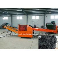 China Non - Woven Textile Rag Cutting Machine Cloth Fabric Shredder Lower Power Consumption on sale