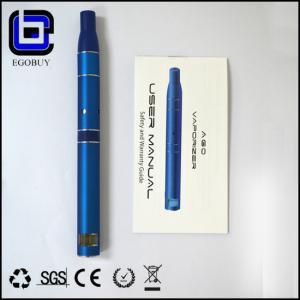 China 650mAh Refillable E-Cig Vaporizer , No Flame Pen Style G5 Vaporizer on sale