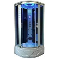 China High End Steam Shower Tub Combo Hydromassage Shower Cabin With Gray Door Glass wholesale