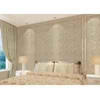 Buy cheap Floral decoration contemporary bedroom wallpaper , Nonwoven modern wallpaper for bedroom from wholesalers