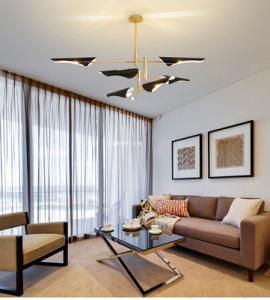 Quality Delightfull Coltrane Modern Ceiling Lights , Bird Wing Warm White Hanging Lights for sale