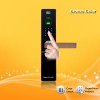 China Remote Control Password Door Lock Zinc Alloy Material For Home / Office Security wholesale
