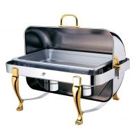 China High quality Rectangle roll top Stainless steel chafing dish TMZ-1001 series wholesale