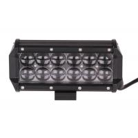 Quality 30000 Hour Vehicle LED Light Bar Black 4d 36w 4x4 3060lm Double Row for sale
