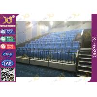China Fabric Cover Folding Home Theater Seats With Rocking Back Amphitheater Chair wholesale