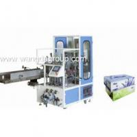 China Full Automatic Facial Tissue Carton Box Sealing Machine( WD-FT-CBSM1) wholesale